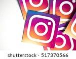 oxford  uk   november 17th 2016 ... | Shutterstock . vector #517370566