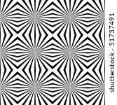 vector geometric illusions... | Shutterstock .eps vector #51737491
