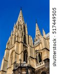basilica of saint clotilde ... | Shutterstock . vector #517449505