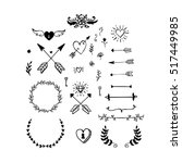 Collection Of Vector Handdrawn...