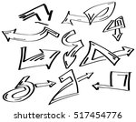 collection set of different... | Shutterstock .eps vector #517454776