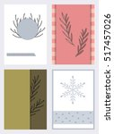different templates for... | Shutterstock .eps vector #517457026