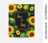 Frame With Sunflowers....