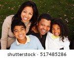 happy family | Shutterstock . vector #517485286
