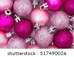 christmas time background  some ... | Shutterstock . vector #517490026