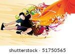 active people vector | Shutterstock .eps vector #51750565