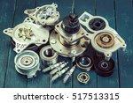 various car parts   Shutterstock . vector #517513315