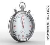 stopwatch on white background.... | Shutterstock . vector #51751672
