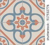 vintage tiles intricate details ... | Shutterstock .eps vector #517532776