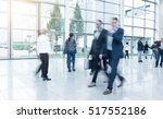 business people at a exhibition | Shutterstock . vector #517552186