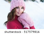 Close Up Winter Portrait Of A...