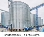 agriculture. modern silos for...