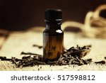 essential oil of cloves in a...   Shutterstock . vector #517598812