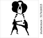 banner for martial arts | Shutterstock .eps vector #517618315