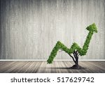 market growth and success as... | Shutterstock . vector #517629742