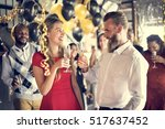 restaurant chilling out classy... | Shutterstock . vector #517637452