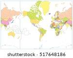 america centered political...   Shutterstock .eps vector #517648186