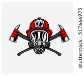 Firefighters Logo Vector