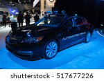 Small photo of Los Angeles, USA - November 16, 2016: Acura Automated Drive on display during the Los Angeles Auto Show.