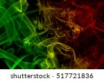 abstract background smoke... | Shutterstock . vector #517721836
