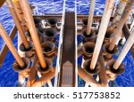 offshore industry oil and gas... | Shutterstock . vector #517753852