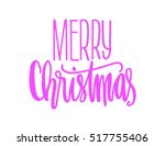 merry christmas. modern... | Shutterstock .eps vector #517755406