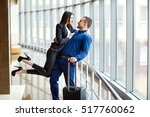 couple in love on vacation.... | Shutterstock . vector #517760062