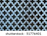 old blue texture - stock photo