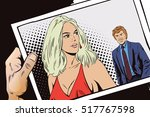 stock illustration. people in... | Shutterstock .eps vector #517767598