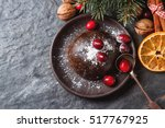 christmas chocolate pudding...