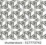 abstract geometric seamless... | Shutterstock .eps vector #517773742