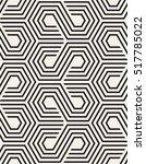vector seamless pattern. modern ... | Shutterstock .eps vector #517785022