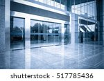 modern office building gate...   Shutterstock . vector #517785436