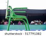 tennis referee chair green...   Shutterstock . vector #517791382