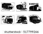 vector illustration of vintage... | Shutterstock .eps vector #517799266
