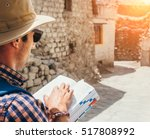 Close Up Image Tourist With...