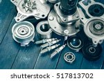 various car parts | Shutterstock . vector #517813702