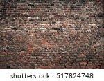 Old Brick Wall. Grunge...