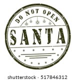 "stamp with text ""do not open ... 