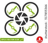 shutter drone eps vector... | Shutterstock .eps vector #517855366