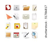 paper icon set | Shutterstock .eps vector #51786817