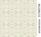 indian pattern. ethnic motif.... | Shutterstock .eps vector #517885768