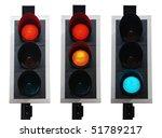 Set Of British Traffic Lights...