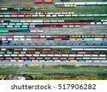 Railway Tracks And Colorful...