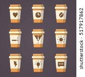 coffee business | Shutterstock .eps vector #517917862