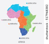 Map Of Africa   Vector...
