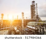 refinery oil and gas industry | Shutterstock . vector #517984366