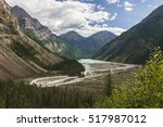 the view of kinney lake from...