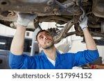 car service  repair ... | Shutterstock . vector #517994152