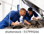 auto service  repair ... | Shutterstock . vector #517994266
